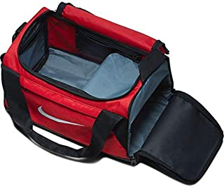 BRASILIA Sport Duffel Gym Bag, XS - Red/Black, 16