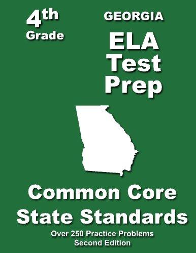 Georgia 4th Grade Ela Test Prep Common Core Learning Standards
