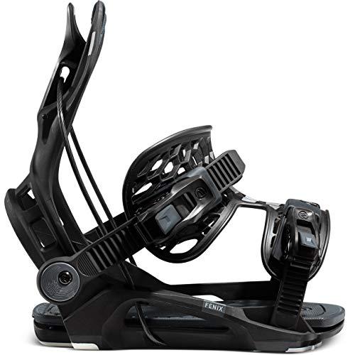 Flow Fenix Snowboard Bindings Mens Sz XL (11-14) Black