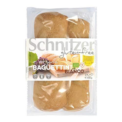Schnitzer - BIO BAGUETTINI BIANCO - 200 g - 5er Pack