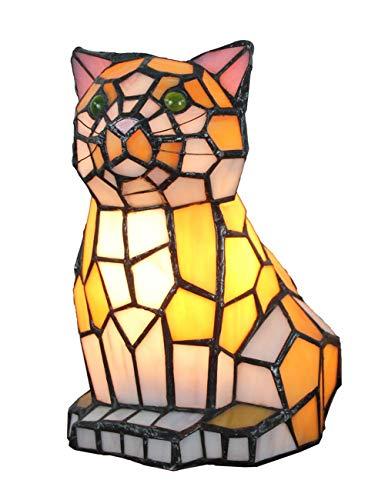 Lampe créative européenne Warm Cat Lampe de table Lampe de nuit pour enfants