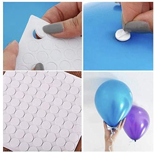 100 Ballon stickers | Muur stickers | Ballon plakkers | Ballonnen ophangen aan het plafond of aan de muur