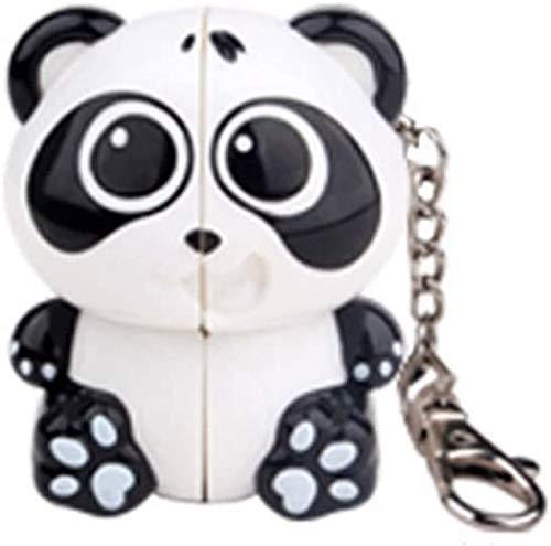 JIAFENG Juguetes educativos 2 × 2 Animales Panda Regalo mágico de Rata Cubo Cubo Cubo Cubo Pingüino del Tigre para los niños de cumpleaños Cubo de la Velocidad,Cubo de Rubik Panda