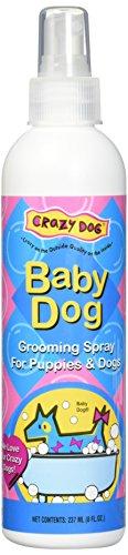 Crazy Dog Baby Powder Grooming Spray, 8oz