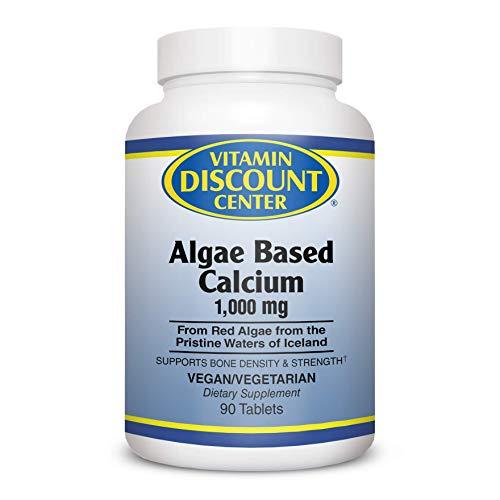 Vitamin Discount Center Algae Based Calcium, 90 Tablets