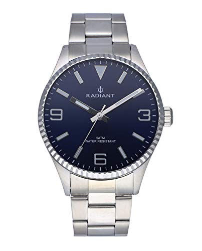 Radiant Bagley Reloj para Hombre Analógico de Cuarzo con Brazalete de Acero Inoxidable RA536201