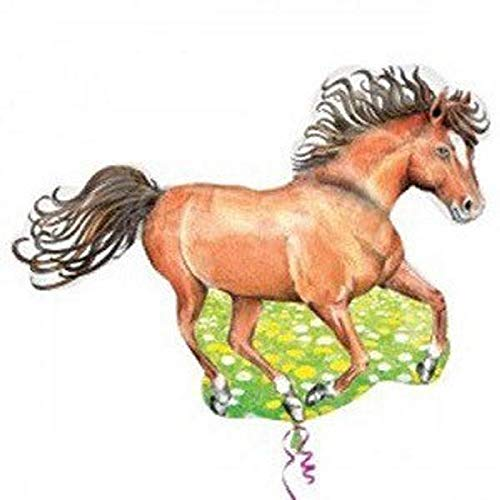 Lowest Prices! Lumos80 Horse Balloon ~ Pony Party, Horse Birthday Party, Hunter Jumper Decorations, ...