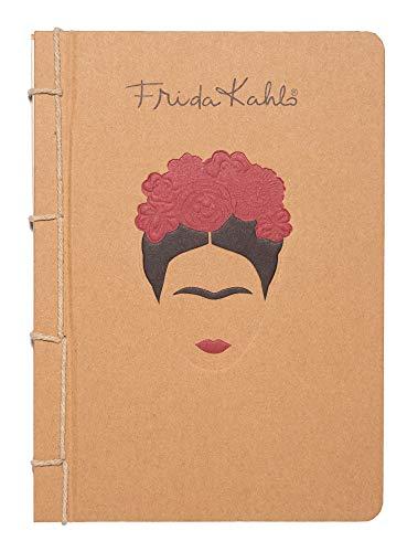 ERIK - Cuaderno de notas A5 Frida Kahlo Ecofriendly, Bullet journal