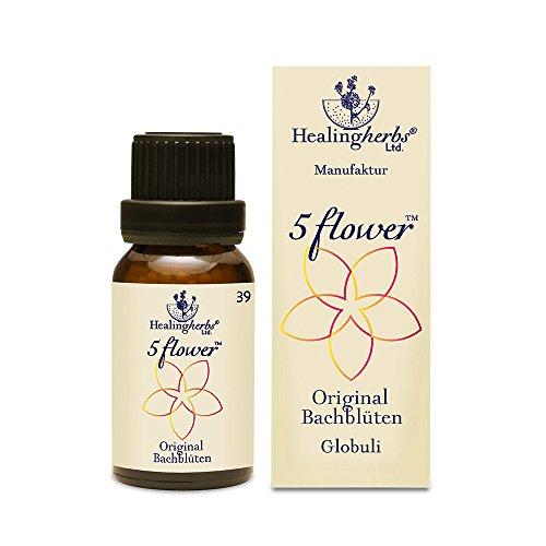 Healing Herbs Bachblüten 5 Flower Globuli, 15 g