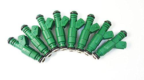 8 pcs Nouveau carburant injecteurs 440 CC/19,1 kilogram 0280155968 Fit pour A4 8e2, B6 A6 4B, C5 3er E36 E39 5er Touring E34 6er Cabriolet 7ER 8er
