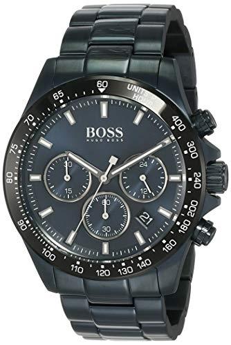 Hugo Boss Mens Chronographe Quartz Montre avec Bracelet en Acier Inoxydable 1513758
