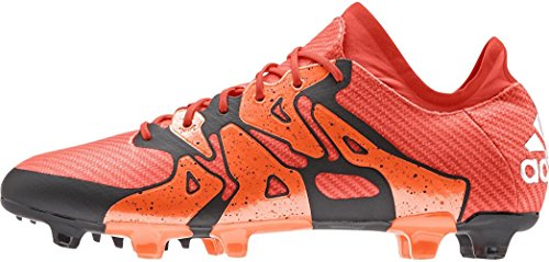 adidas-Männer X 15.1 Fg/ag Firm Ground/Kunstrasen FuÃ?ballschuh 8 Us, Mutige orange/weiÃ? / o
