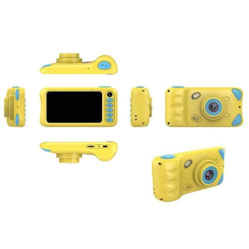 Topvork Kids Camera, Children Digital Camera 32GB SD Card HD 1080P 4.39 Inches USB Rechargeable Outdoor Toy Cute Camcorder Portable Mini Cam Girls & Boys Birthday Gifts