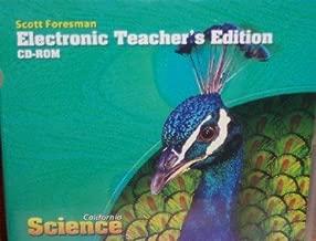 Electronic Teacher's Edition Grade 4 (California Science)