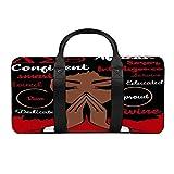 MaiXiye De-lta Sig-ma Th-ETA Travel Duffel Bag Tote Weekender Overnight Bag Carry on Luggage Handbag with Shoulder for Men Women