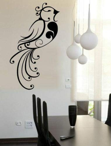sanzangtang Vogel vinyl muur sticker huis ontwerp waterdichte muur decal mode-decoratie woonkamer muurschildering