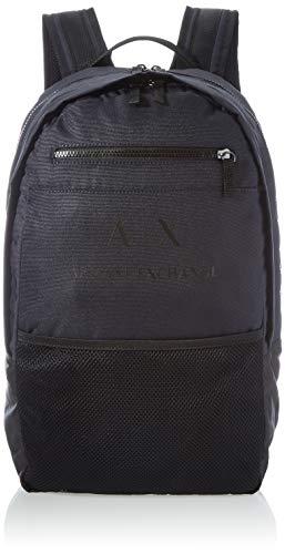 ARMANI EXCHANGE Urban Tech Backpack, Zaino Uomo, Blu Navy, Taglia Unica