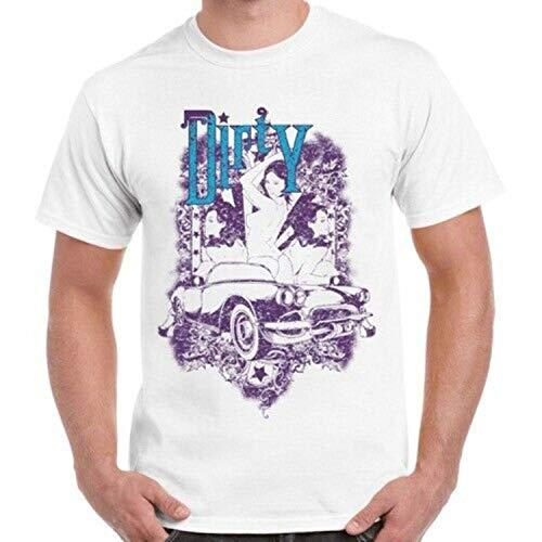 JONES DIY Dirty Naked Sexy Girls Car Art Vintage Retro T Shirt