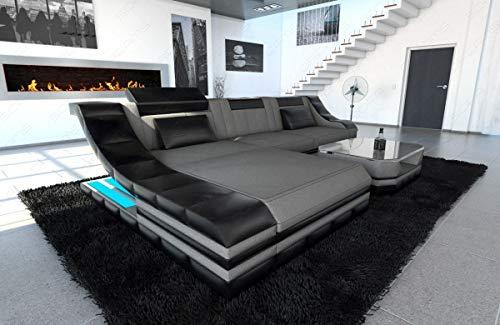 Sofa Dreams Stoffcouch Turino als L Form Ecksofa auch mit Bettfunktion