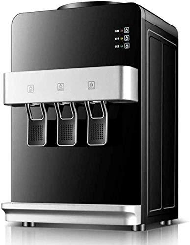 Dispensador de hielo de agua Pequeño escritorio de oficina Refrigeración del hogar Paneles de calefacción Mini botella de agua vertical automática embotellada