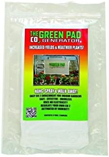 The Green Pad CO2 Generator Hydroponic Sheets Indoor Maximizer, 5 Pack
