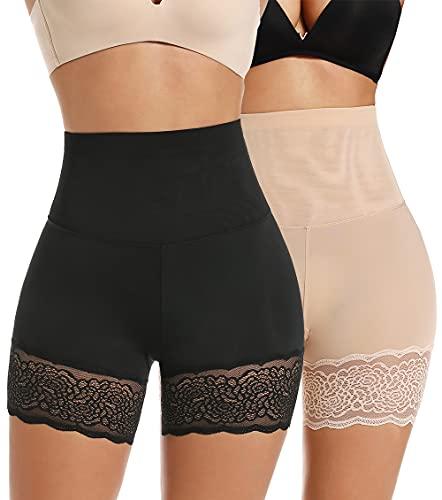 MISS MOLY Mujer Bragas Moldeadoras Braguitas Reductoras Pantalones Leggings Cortos de Seguridad...