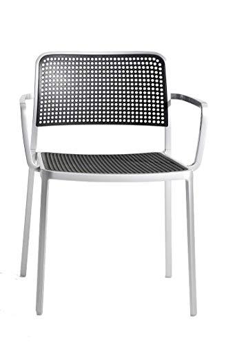 Kartell - Audrey - Piero Lissoni - Design - Esszimmerstuhl - Gartenstuhl - Küchenstuhl - Speisezimmerstuhl - Terrassenstuhl