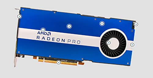 AMD Radeon Pro W5500 8GB GDDR6 Workstation Grafikkarte 4x DP