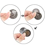 WSNMING Magic Flipper Coin Half Dollar Coin Magic Tricks Professional Magician Props Close up Magic Stage Illusions