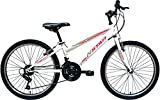 New Star peñalara Bicicleta BTT 24', Niñas, Blanca, m