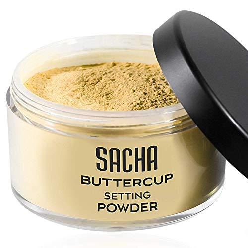 Sacha Cosmetics - Polvo Buttercup, Sin Reflejo Para las Fotos y Selfies...