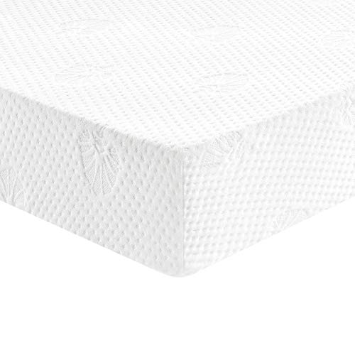 Breathable Premium Baby Mattress for Infant and Toddler with Removeable Cover Dual Sided Sleep System Comfort Memory Foam Reversible Baby Mattress White Crib Mattress and Toddler Bed Mattress