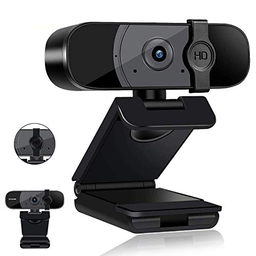 Webcam with Microphone, Camera Computer,2K HD Web Camera with Privacy Cover, USB 3.0 Plug and Play...