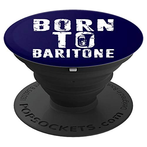 Baritone Euphonium Player Gift Marching Band PopSockets Grip and Stand for Phones and Tablets