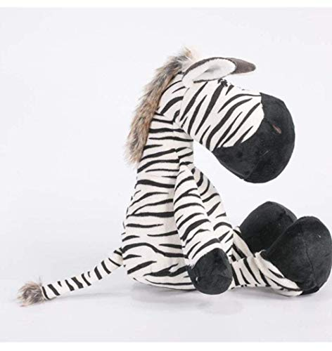 knuffels zebra dieren poppen cartoon knuffels voor kinderen zachte katoenen dieren pop kinderen verjaardag knuffel