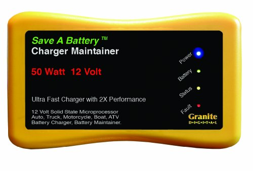 Battery Saver 2365 12V 50W Quick Charger and Auto Pulse Maintainer