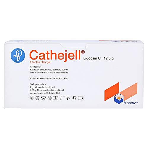 CATHEJELL Lidocain C steriles Gleitgel ZHS 12,5 g 25 St