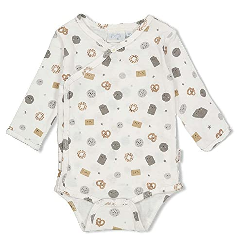 Feetje Body para bebé de manga larga con estampado de galletas - 50200131 naturaleza 1 mes