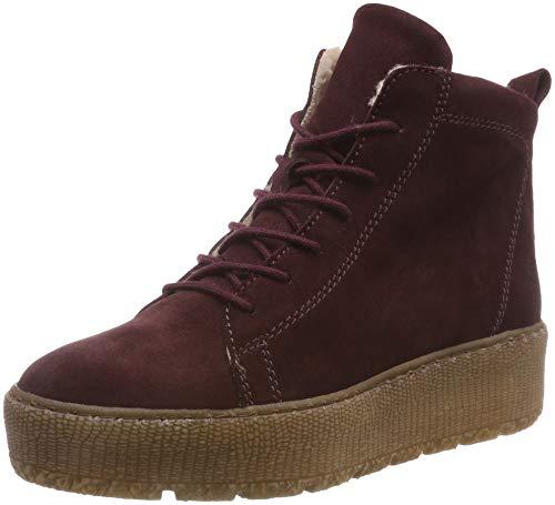 Tamaris Damen 26256-21 Combat Boots, Rot (Bordeaux 549), 37 EU