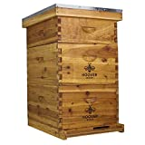 Hoover Hives 10 Frame Langstroth Beehive Dipped in 100% Beeswax...