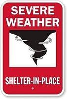 126グレートティンサインアルミニウム厳しい天候シェルターが設置されている屋外および屋内サイン壁の装飾12x8インチ
