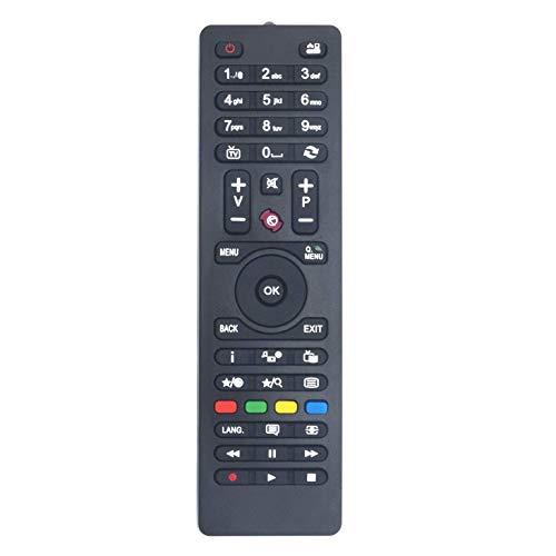 VINABTY RC4849 RC4870 RC4875 Mando a Distancia para Celcus para JVC para DIGIHOME TV para Logik para Finlux para Telefunken para Sharp CEL-32HDRB16/1 CEL-22FHDDB-16/1 LED22167FHDDVD