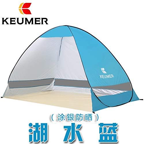 SDSA Automatic Pop-Up2People Ultralight Waterproof Tent, Park, Beach, Outdoor Leisure And Indoor Activities,220*120*130cm