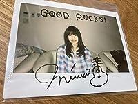 miwa 直筆サイン入り 写真 当選通知あり デビュー当初 GOOD ROCKS