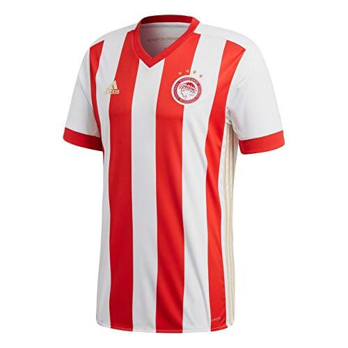 2017-2018 Olympiakos Adidas Home Football Shirt