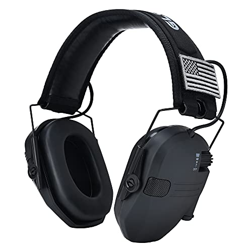 Ear Protection, Hearing Protection for Shooting Gun Range Earmuffs, 23DB NRR