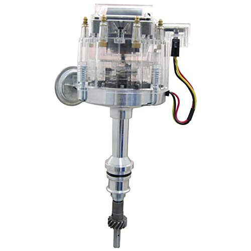 New HEI Distributor Fits Replacement Ford V8 SBF 302 5.0 1986-1994 EFI Replacement For Carbed Conversions Long Shaft 1.5 Inch From Gear to Shaft End