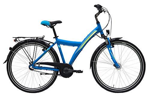 Pegasus Avanti 3NR 26 Zoll Jugendfahrrad Kinderrad 2020, Rahmenhöhe:38 cm, Farbe:blau