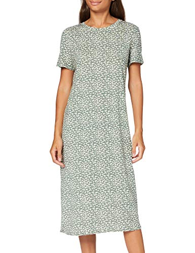 VERO MODA Damen VMGAVA SS AOP Dress VMA Kleid, Laurel Wreath, M