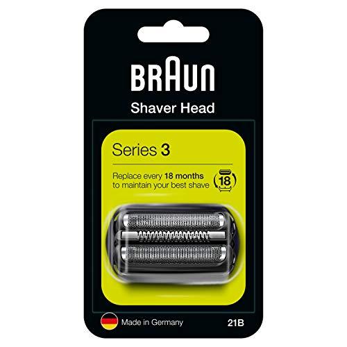 Braun Series 3 21B Elektrischer Rasierer Scherkopfkassette – schwarz